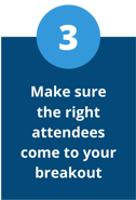 recruit the right virtual attendees