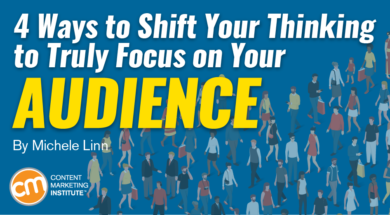 content marketing audience focus
