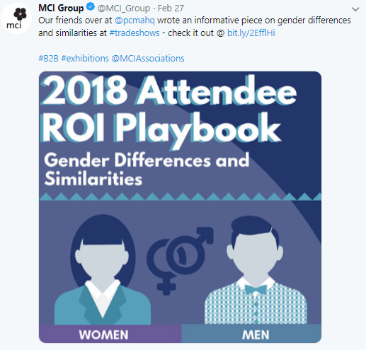 Attendee Gender Differences