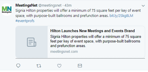 Hilton Signia for meetings and events