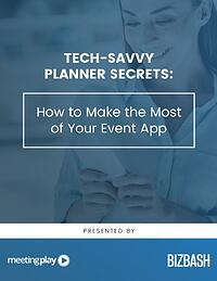 event technology ROI