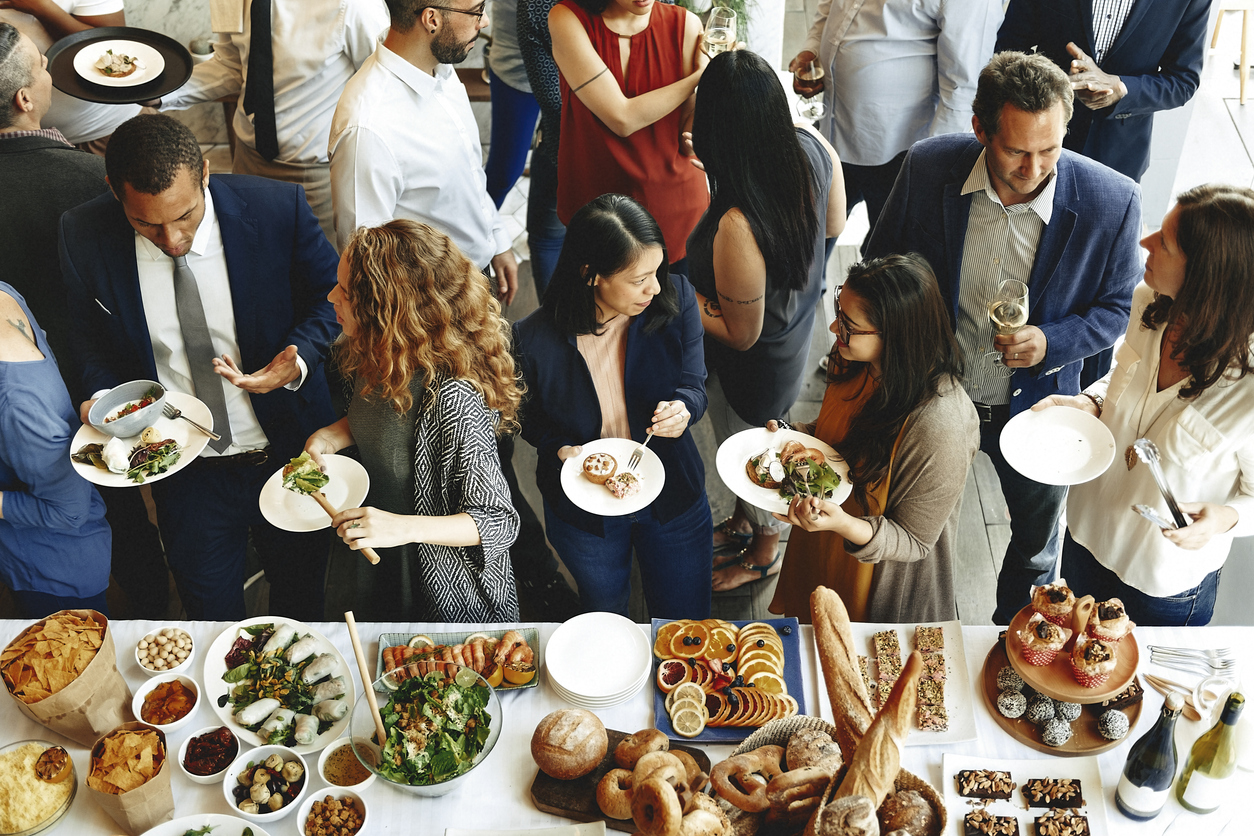 In-Person Event Catering