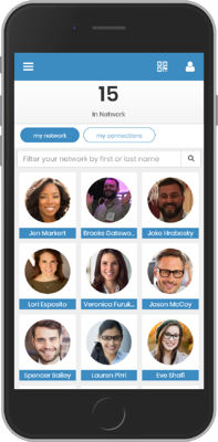 Networking event app