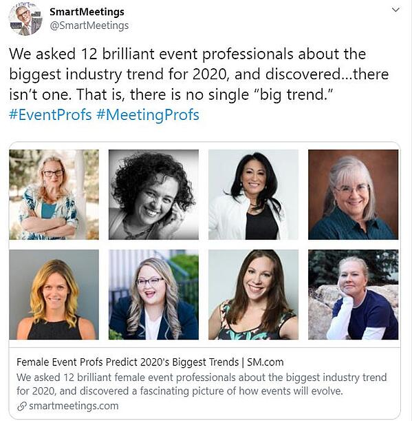 Event Industry Trends 2020
