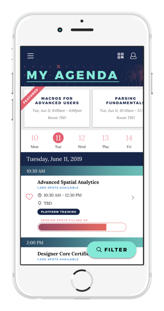 Best Event App Features Personal Agenda
