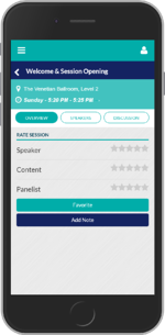 mobile event networking app