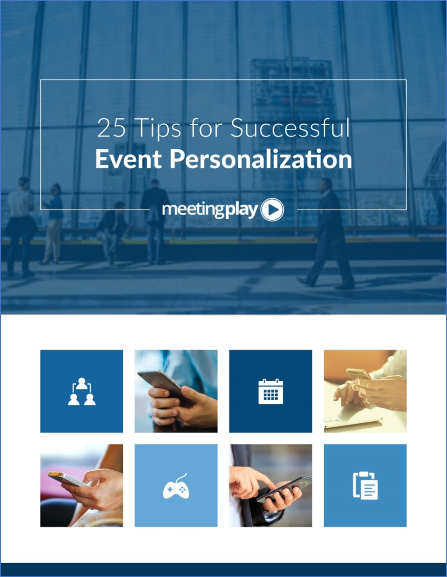 Personalized event app