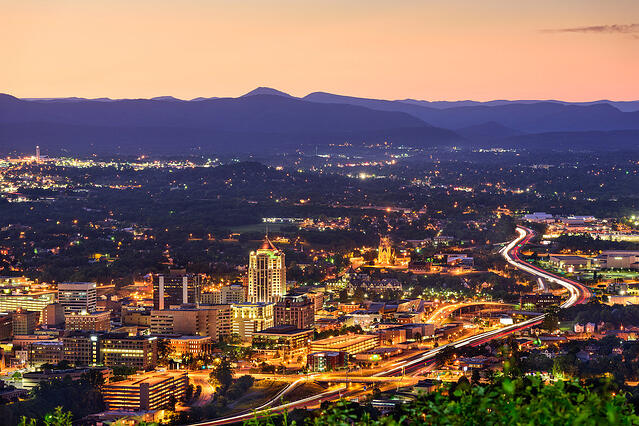 Roanoke Virginia city overview