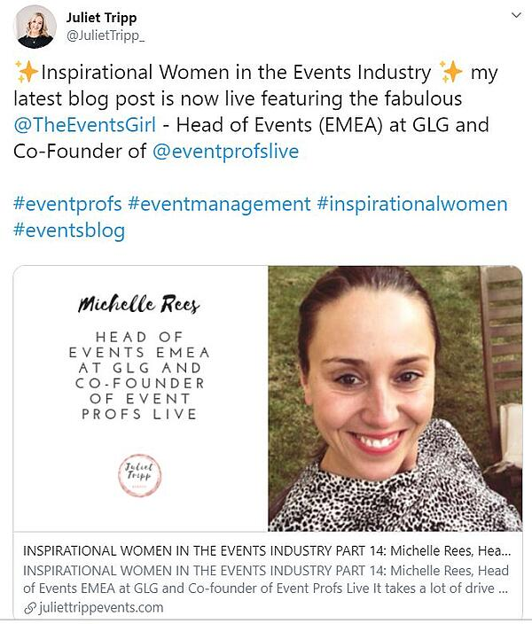 Women in Events
