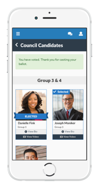 real time voting app