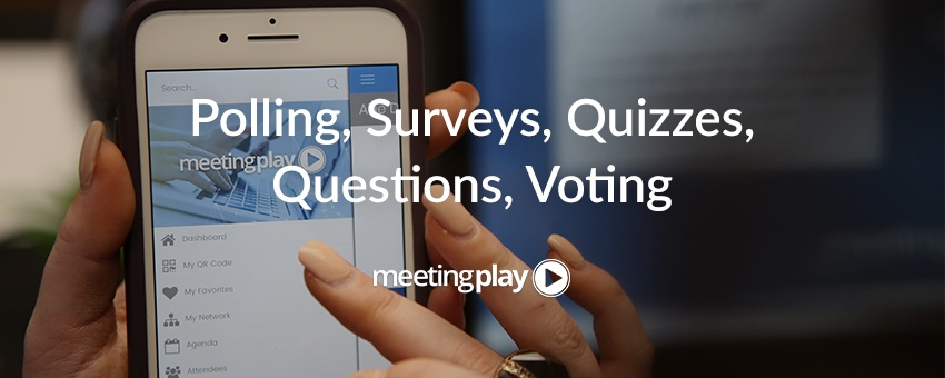 Event Live Polling and Audience Response Systems