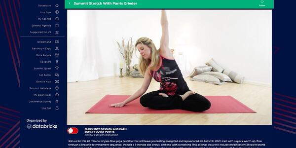 Virtual Event Yoga