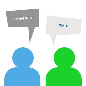 Emergency Channel for Virtual Events