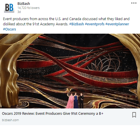 Event Production at the Oscars