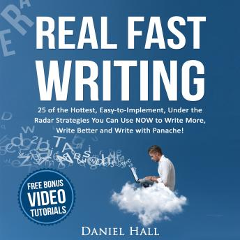 Real Fast writing audio book