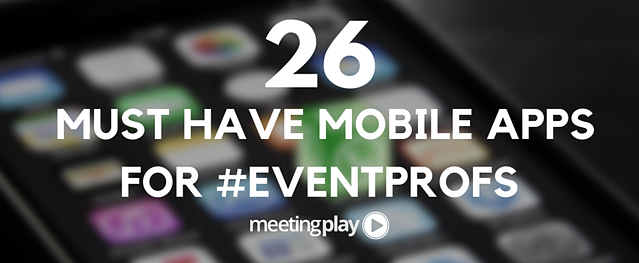 must have mobile apps for event planners