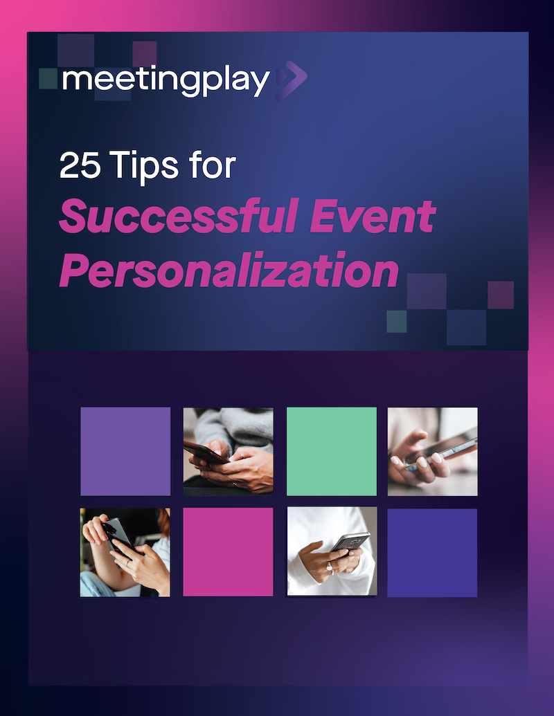 25 Tips for Successful Event Personalization