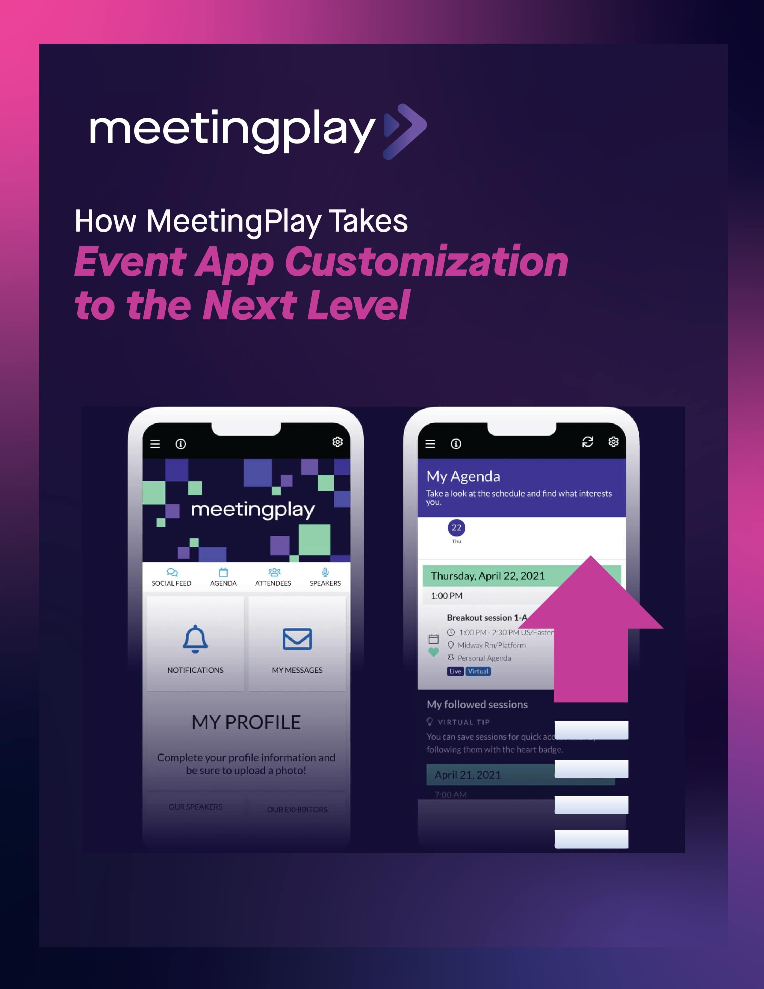 How MeetingPlay Takes Event App Customization to the Next Level