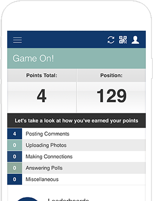 event gamification dashboard