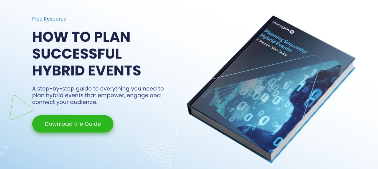 how to plan successful hybrid events ebook