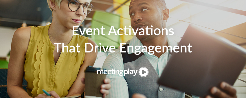 Use These Four Onsite Activations to Drive Event Engagement