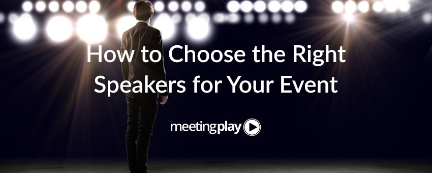 Choosing The Right Event Speaker