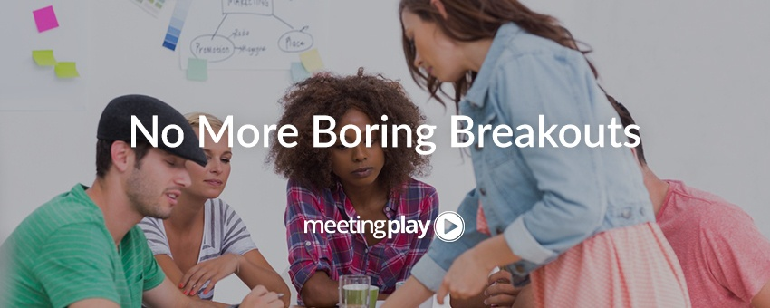 6 Ways to Shake Up the Traditional Breakout Session Format